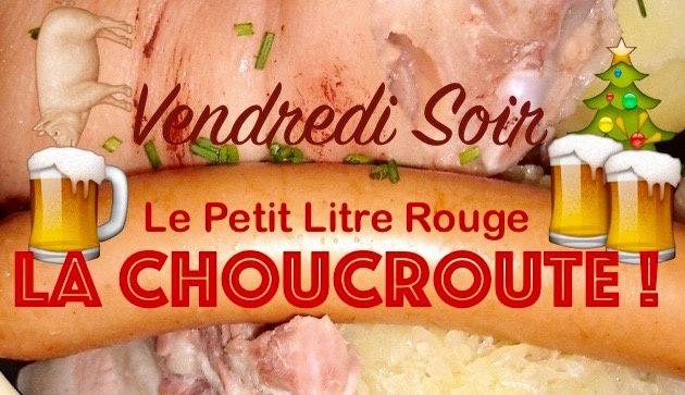 """Choucroute au """"Petit litre rouge"""" à Tarascon"""