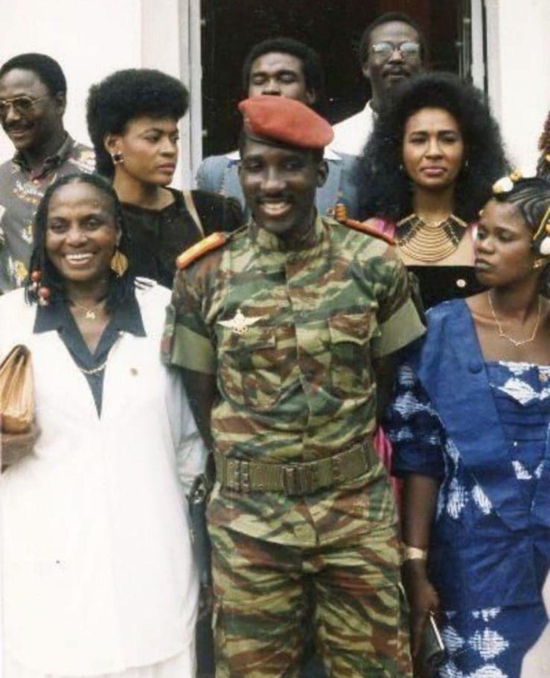 Le choc des stars en 1986 au Burkina Faso