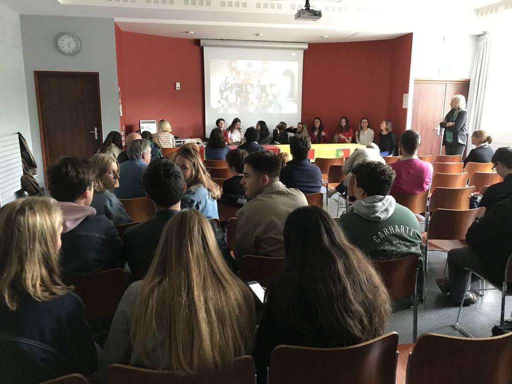 Une journée de l'Europe Erasmus+ au lycée