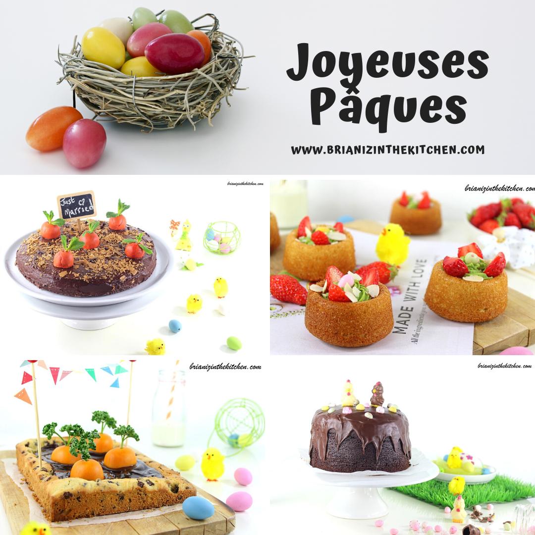 Compilation de Recettes pour célébrer Pâques comme il se doit !