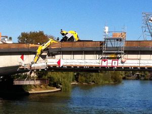 ACTUALITÉ: Incident chantier Pont de Bry