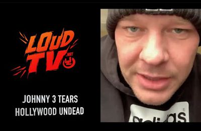 VIDEO - interview avec Johnny 3 Tears de HOLLYWOOD UNDEAD