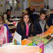 Des écrivains à l'école Saint-André