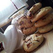 Cookies aux pépites de kinder - La popotte coup de c♥eur de Maman et Papa cuisiner avec amour écrite passionément pour Bébé!