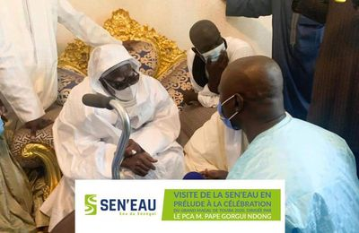 BREAKING MAGAL TOUBA NEWS //visited de la SEN'EAU , en prelude a la celebration du Magal de touba 2020 Par le ministre maire pape gorgui ndong pikine ouest !!!