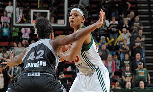 WNBA: Seattle Storm va mieux