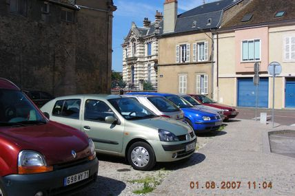 Quartier centre ville : la rue Eumène.