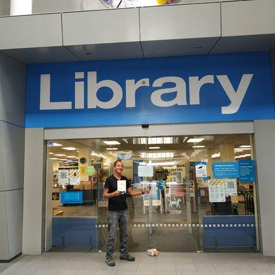 incroyable bibliothèque à Tauranga en nouvelle Zélande