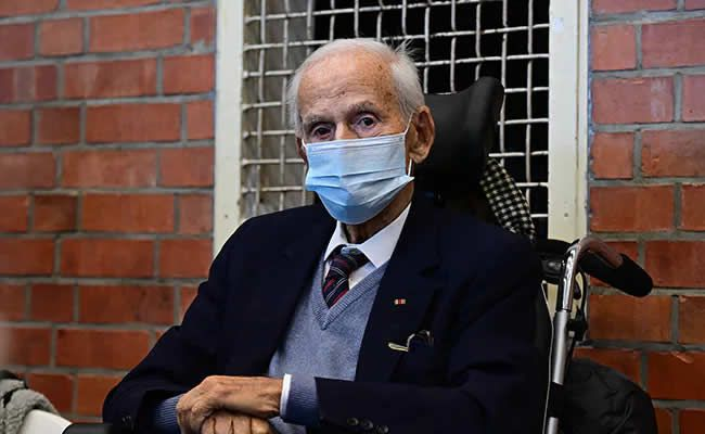 100-year-old Josef Schuetz worked as a guard at a Nazi concentration camp