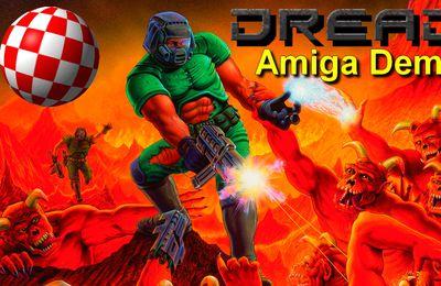 Amiga Demo - Dread, LE clone ultime de DOOM pour Amiga 500+ !!! (Gameplay)