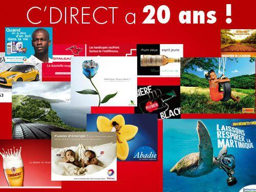 Quand C'Direct a 20 ans...