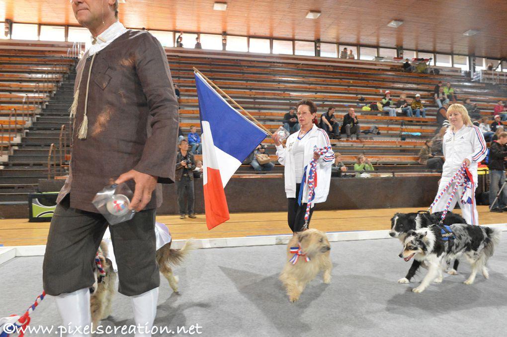 OEC Prague en 2012. Nos trois participants français : Arlette Martin (Abag), Corinne Médauer et Thierry Thomas.