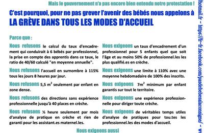 """Intersyndicale SUPAP-FSU/UCP : toutes et tous en grève et en manifestation mardi 30 mars à 10h place Denfert-Rochereau, avec le collectif """"Pas de bébés à la consigne"""" !"""