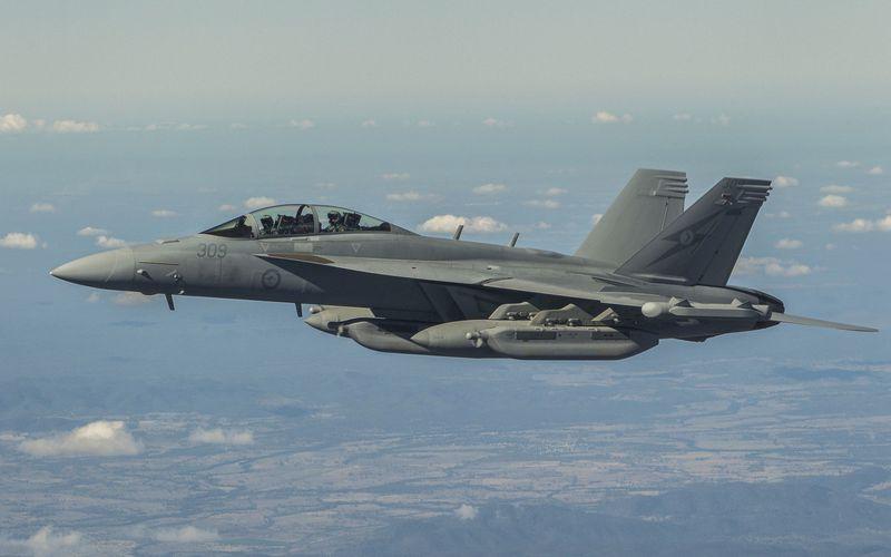 Les EA-18G Growler australiens obtiennent leur capacité opérationnelle initiale