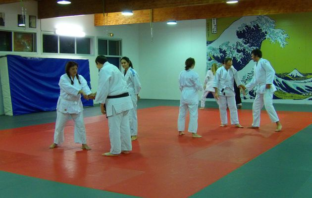 Adultes. Aikido