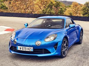 Alpine A110 version 2018