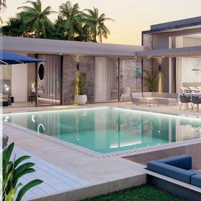 Nouveau projet immobilier de luxe de 8 villas sur mesure aux lignes épurées