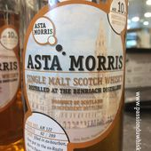 Asta Morris - Benriach 10Y - Passion du Whisky