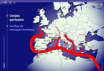 Le Grand Port Maritime de Marseille et les corridors FRET