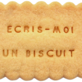 Shanty Biscuits - Biscuits Personnalisés message, logo Made in France