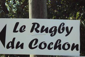 samedi 21 juin : le rugby du cochon.