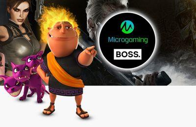 Le développeur Microgaming rejoint la plateforme BOSS