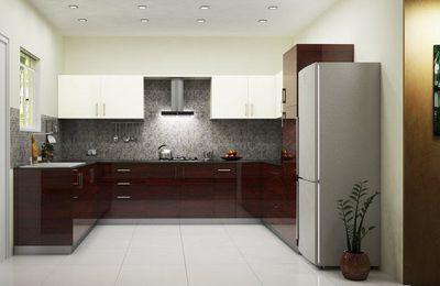 Best U Shape Modular Kitchen Dealers & Designers in Mumbai