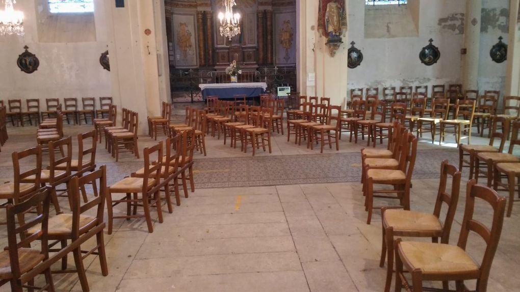 """21 novembre : Le """"Ballet"""" des chaises de l'église st Martin st Roch"""