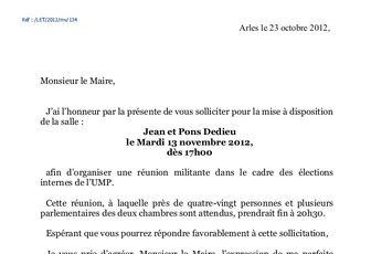 UMP: sur Arles, encore et toujours rumeurs et blah-blah...
