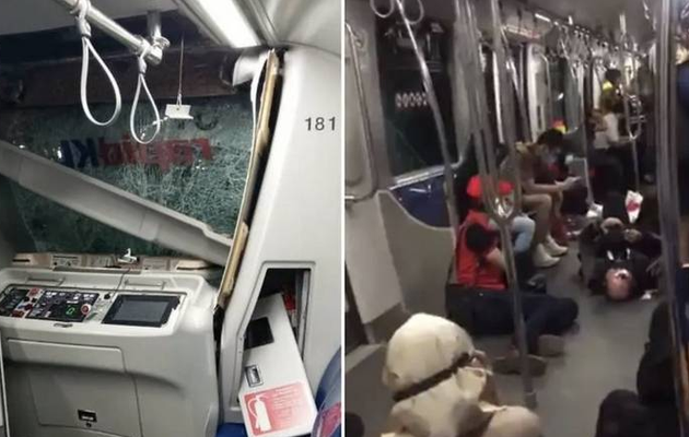 Over 200 injured as trains collide inside tunnel in Malaysia