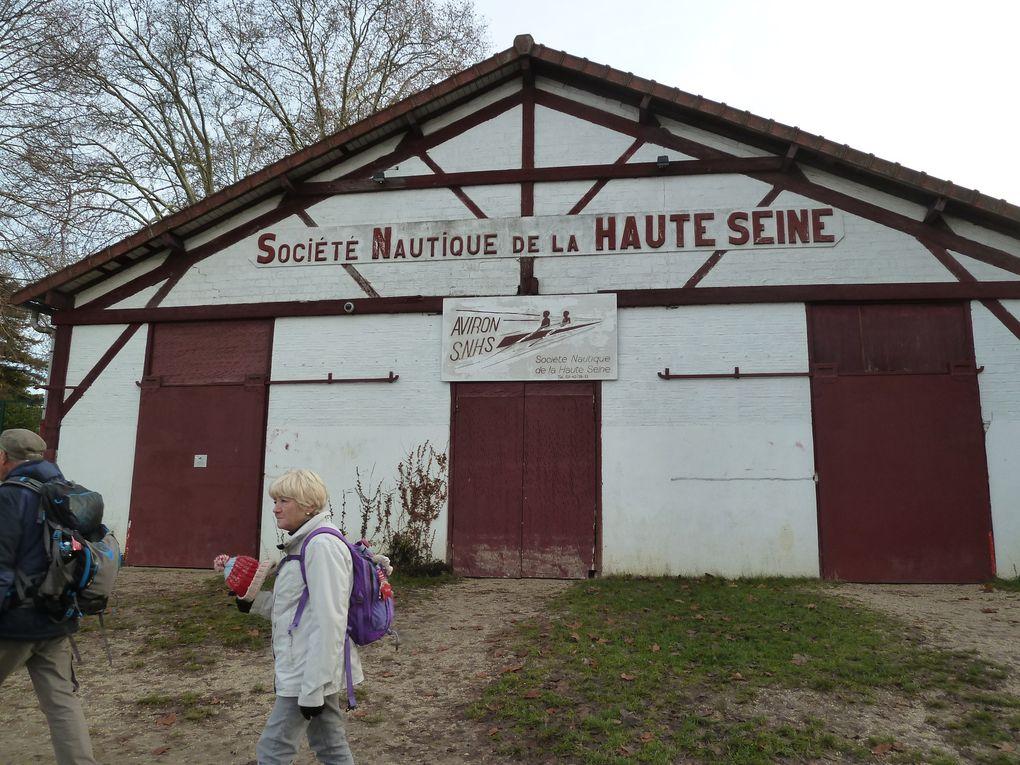Randonnée d'Evry-Val-de-Seine à Athis-Mons - 20,3 km.