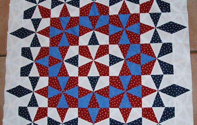 Quilts kaléidoscope / illusions-kaléidoscope quilts
