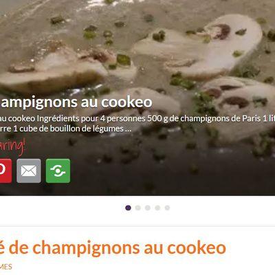 Découvrez mon nouveau blog Cookeo