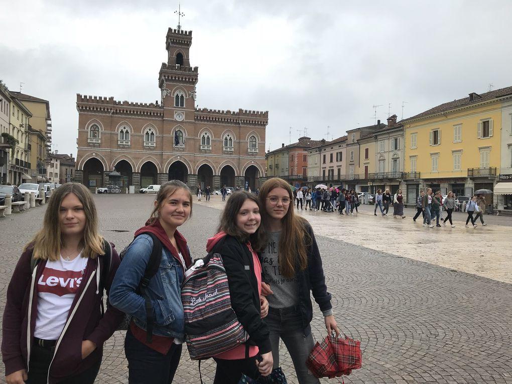 Italia for ever... rencontre de jeunes italiens dans le Nord avec des anglais et finlandais