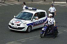 La police au scanner