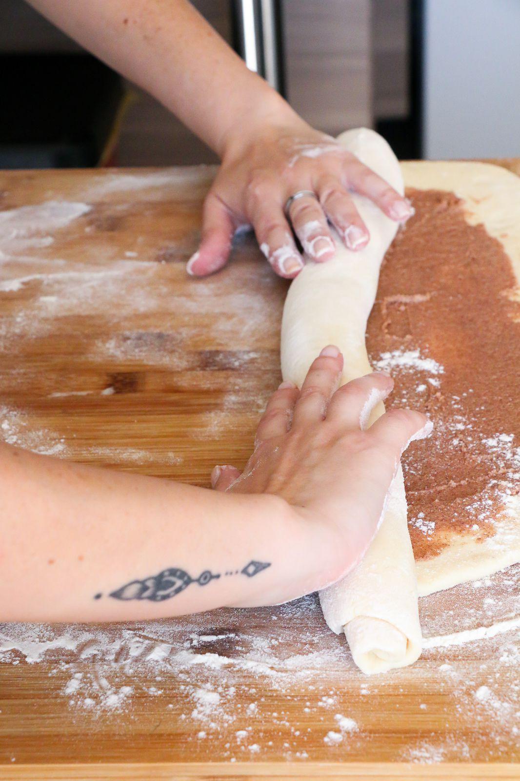 Brioche à la cannelle ( Cinnamon rolls )