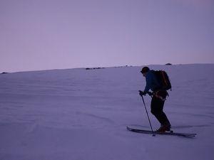 Ski de randonnée  : Grand Paradis 4061 m Février 2020
