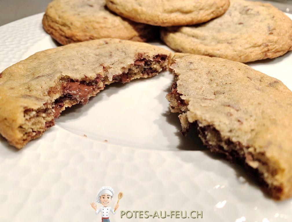 Cookies géants crousti-moelleux
