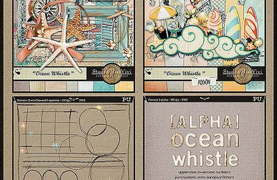 """""""Ocean Whistle"""" Collection is on shop and a ONE-DAY Freebie"""