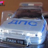 FASCICULE N°10 LADA 112 POLICE RUSSE 1/43 - car-collector.net