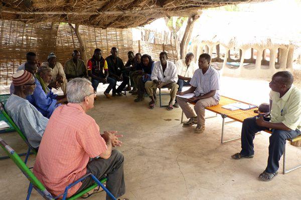 Formation des bénéficiaires de la zone de Koussan et Talibadji. Mamadou Fadé et ses Padex, c'est toute une histoire !