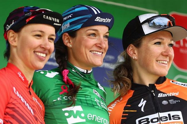 OVO Energy Women's Tour 2019 : le podium | © The Women's Tour