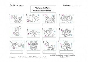 Labyrinthes animaux...