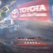 NASCAR Truck Race Ends The Way It Started: With Huge Wreck