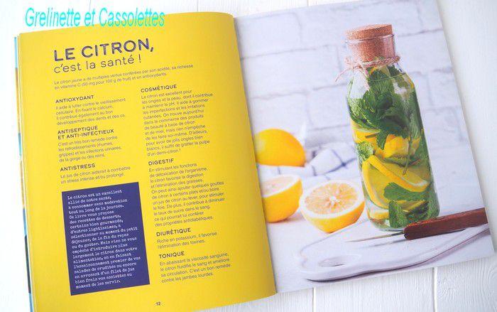 Douceurs Citron Bio, recettes et astuces de Clea, éditions La Plage