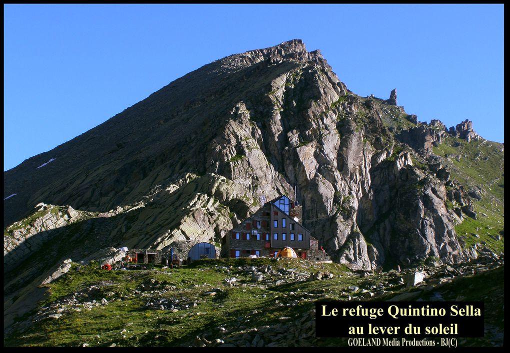 TOUR du VISO - 1ére EXPE - ETAPE 3 - Du Rfge QUINTINO SELLA au Rfge VALLANTA