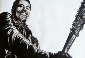 Negan de walking dead
