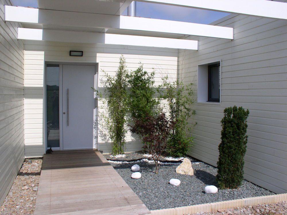terrasse et entrée