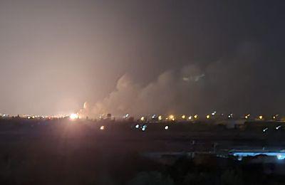 [Vidéos, photos] Des frappes israéliennes ont touché un complexe militaire syrien clé dans le sud d'Alep (Southfront)