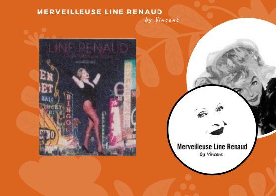 NEWS: Aperçu de la couverture du Livre  «Line Renaud Mes Annees Las Vegas»
